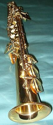 Century French supervised Soprano Saxophone Demo Model with extras in Case / box