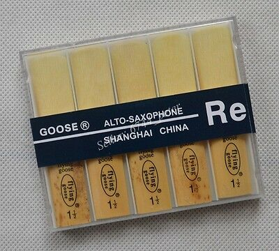 "10 pcs Eb Alto Saxophone Reeds SAX reed size #1.5  Brand  ""Flying Goose""  NEW"