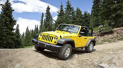 "Jeep Wrangler Truck 42/"" x 24/"" LARGE WALL POSTER PRINT NEW."
