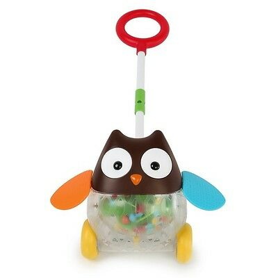 Skip Hop Explore & More Rolling Owl Push Toy- Best Walking Toy For Toddlers