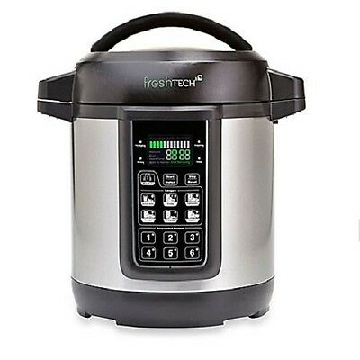 NEW FreshTech Automatic Home Canning System, Chrome, Kitchen Canned Food Tool