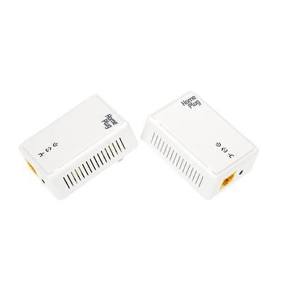 2 * 200Mbps Network Extender Homeplug AV Powerline Adapter Kit US Plug # O0K4