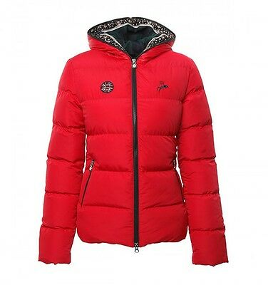 Spooks riding - Francis Flower Jacket in red -  NEU