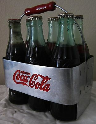 Aluminum Coca-Cola Six Pack Carrier Circa 1950's