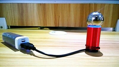 Smallest Tesla Coil Kit+Power Bank For Wireless Transmission Experiment