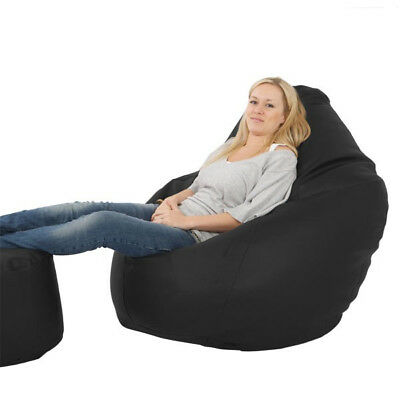 Giant Mansize Beanbag - Faux Leather Bean Bag