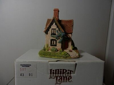 Lilliput Lane Gamekeepers Cottage 1991 Special Event Piece NIB No Deed