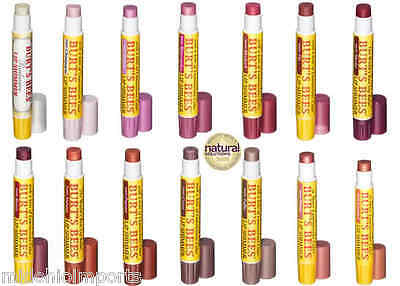 Lot Of 3 Burts Bees Lip Shimmers Balm Gloss  *** Pick 3 Shades***