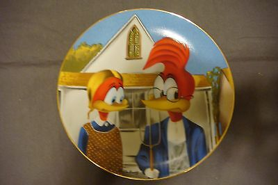 NEW Gothic Woody Woodpecker By Walter Lantz Collectible Porcelain Plate #2259