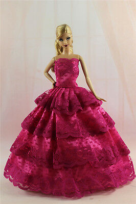 Fashion Princess Party Dress/Evening Clothes/Gown For 11.5in.Doll S329