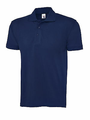 Uneek Unisex Ladies Mens Essential Classic Fit Work Casual Polo Shirt Top UC109
