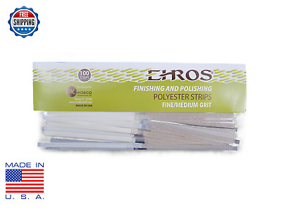 Dental Composite Polyester Polishing and Finishing Strips FINE/MEDIUM 100pcs