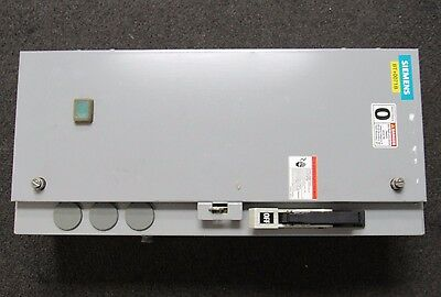 Siemens Combination Magnetic Starter 18Csb92Nf