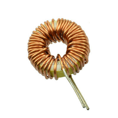 10Pcs Toroid Core Inductors Wire Wind Wound DIY mah--100uH 6A Coil