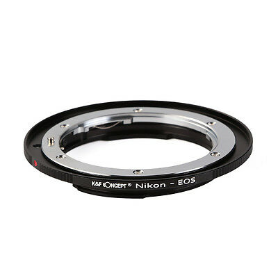 K&F Concept Mount Adapter Ring for Nikon F AI Ai-S Lens to Canon EOS EF Camera