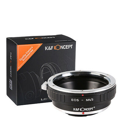 EOS-M4/3 Adapter Ring Canon EOS EF EF-S Lens to Micro 4/3 Olympus Panasonic