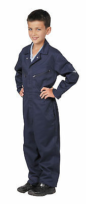 Portwest Boys Girls Childrens Kids Garage Coverall Boilersuit Overall C890