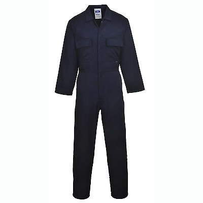 Portwest Coverall Boilersuit College Mechanic Apprentices Engineering Work