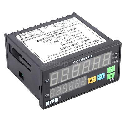 Digital Length / Counter Meter 6-digits LED Display Relay Output FH8-6CRNB P0E8