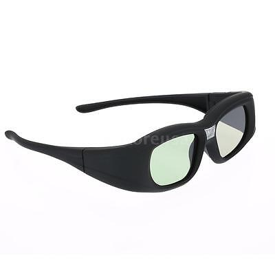DLP-Link Active Shutter 3D Glasses for Optoma BenQ Viewsonic Projector NEC P0FU