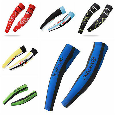 Xintown Bike Arm Sleeve Warmers Cycling Bicycle Protective Cuff Cover 6 Colors