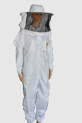 Oz Apiarist Beekeeping Suit Heavy Duty Round Hat Professional Quality