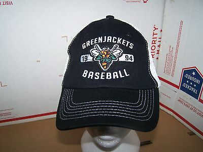 Augusta GreenJackets  MINOR LEAGUE BASEBALL HAT/CAP- FITTED- ONE SIZE FITS MOST