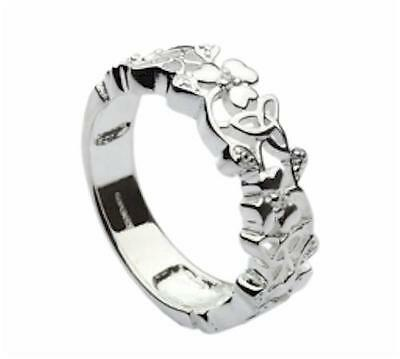 The Story of the Children of Lir Silver Ring - Size Select - Irish Made