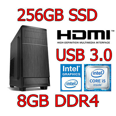 PC Sobremesa Intel Core i5-4460 8GB 240GB SSD HDMI USB 3.0  ***OFERTA***