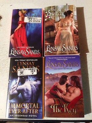 Lynsay sands Lot Of Four Paperbacks