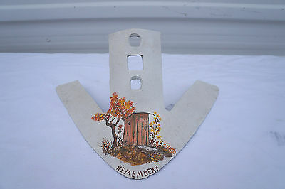 Vintage Cultivator Plow Point Farm Decor Antique rusty Metal ART MAUDREON 1975