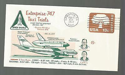 Enterprise 747 Taxi Trials First Test Orbiter  Feb 15,1977  Eafb  Space Voyage