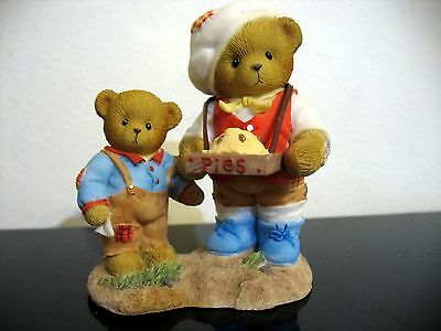 Enesco Cherished Teddies Vincent & Reed figurine 4012280 Simple lifes pleasures
