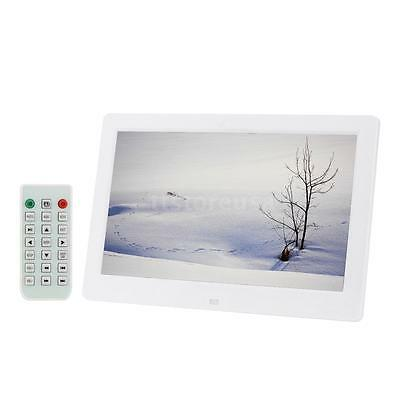 """10.1""""HD Digital Photo Picture Frame Clock MP3/4 Video Player With Remote Control"""