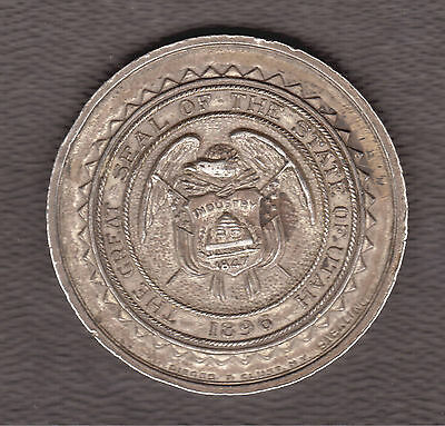 RARITY 7! HK-358 1909 Seattle Yukon Pacific Exposition Dollar Medal 11-20 Known!