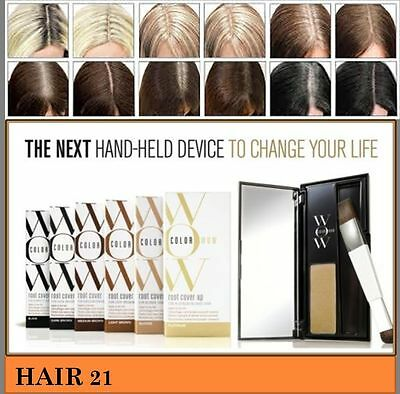Color Wow Instant Hair Root And Regrowth Cover Up - All 7 Shades Available