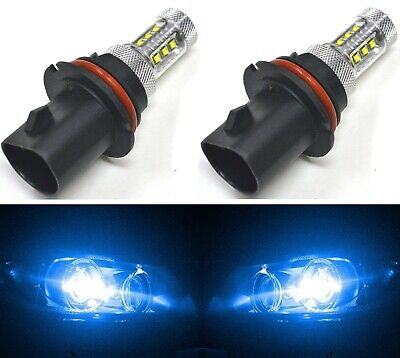 LED 50W 9003 HB2 H4 Blue 10000K Two Bulbs Head Light Replace Lamp Off Road Fit