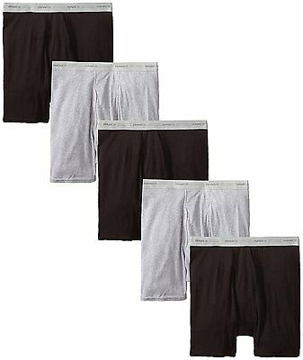 2349Z5 Hanes Men's Boxer Briefs with Comfort Flex Waistband 5-Pack