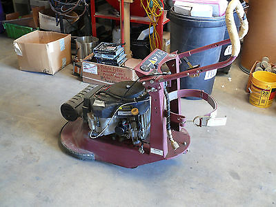 "Minuteman  21"" Propane Floor Burnisher/Buffer W/Kawasaki 17Hp engine"