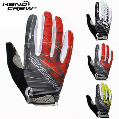 New Autumn Cycling HANDCREW Bike Special Bicycle 3D GEL Sports Full Finger Glove