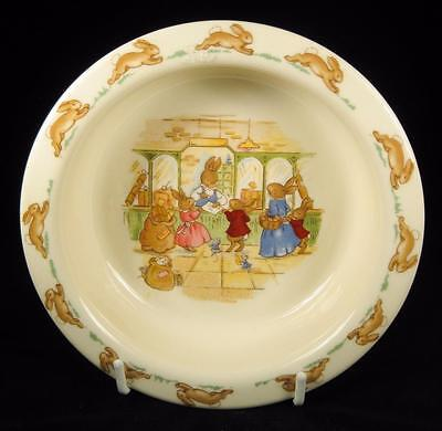 Royal Doulton Bunnykins 'Post Office' Baby Bowl