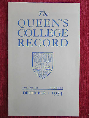 1954 The Queens College Record Boat Race Vintage Ephemera Booklet FC16
