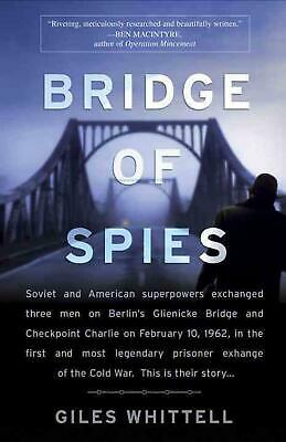 Bridge of Spies by Giles Whittell (English) Paperback Book Free Shipping!