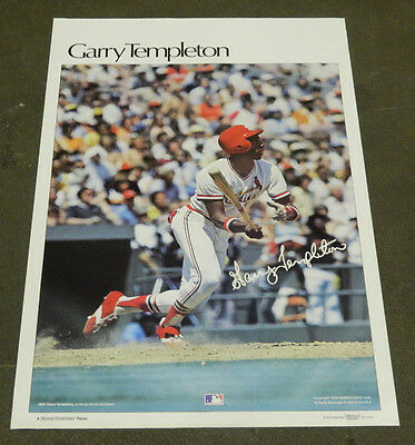 """1978 Sports Illustrated Poster Garry Templeton Measures 24"""" X 36"""""""