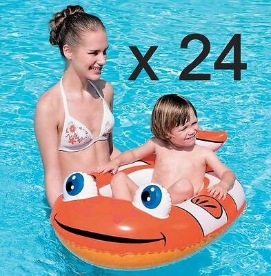 Little Buddy Kid's Clown Fish Joblot Pool Toys Boat Bulk Buy Trade (Box Of 24)*