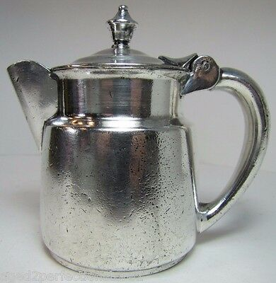 Antique Restaurantware Creamer The FLORIDIAN Albert Pick Co Nickel Silver Solder
