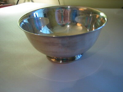 Vintage Reed & Barton Silver Plated Footed Bowl