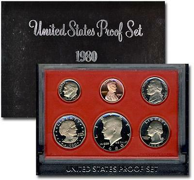 1980-S United States Proof Set GEM Proof (Original Mint Packaging) SKU1426