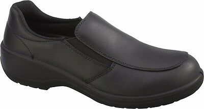 Topaz Women's Office Safety Shoes with Steel Toe Cap
