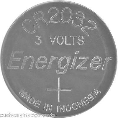 Energizer Ecr2032 3V 3 Volts Lithium Button Battery Cr2032